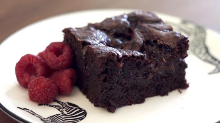 Frambuazlı Brownie