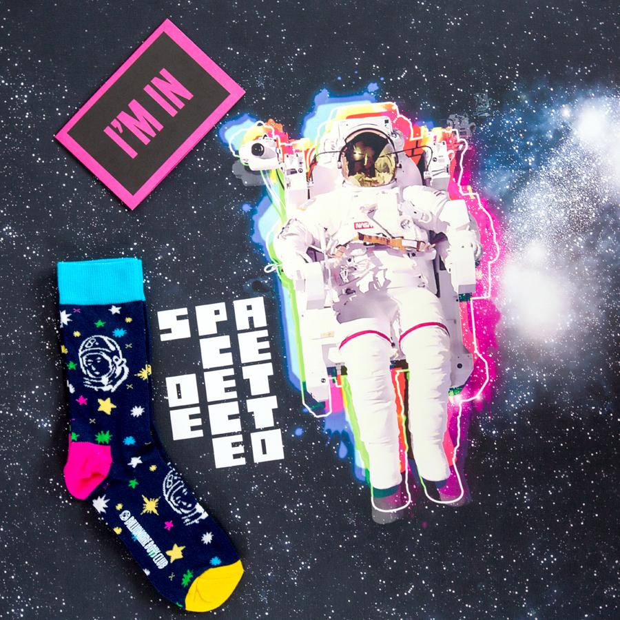 I'm in the Space - Happy Socks
