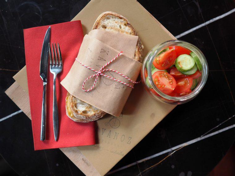 Füme Etli Tost - Kavanoz Kahvaltı