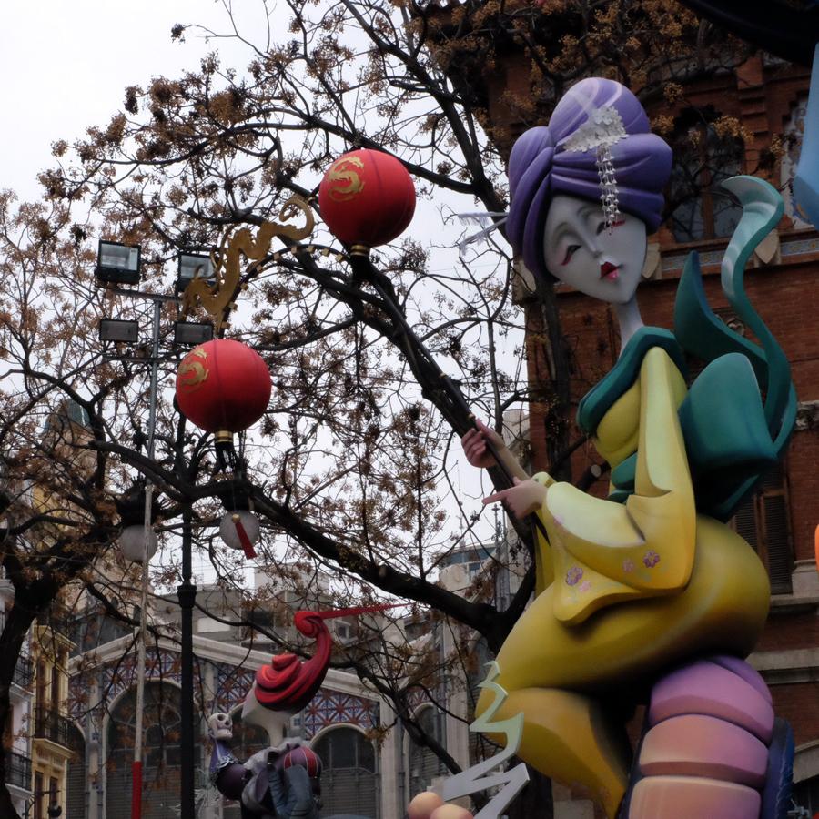 Las Fallas de Valencia - Bir Bahar Karşılama Festivali!