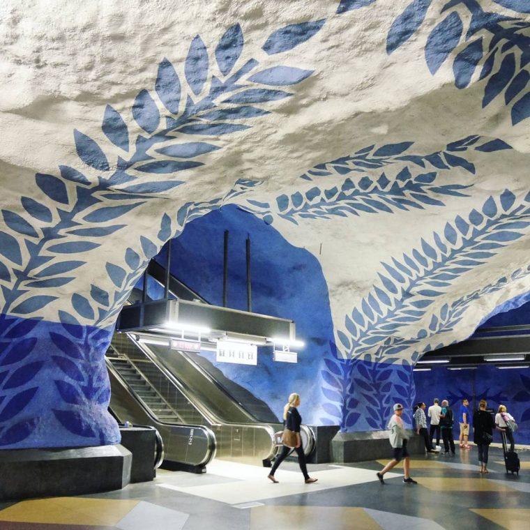 Stockholm Metro Durakları | T-centralen