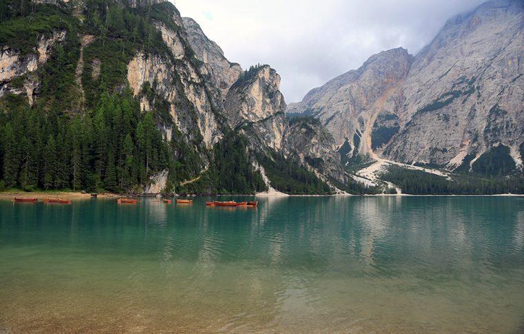 Dolomit Dağları | Braies Gölü