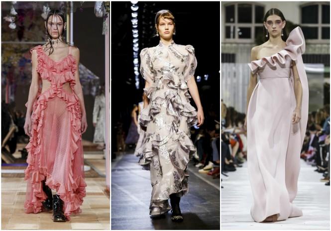 2018 Yaz Modası | Alexander McQueen, Erdem, Valentino