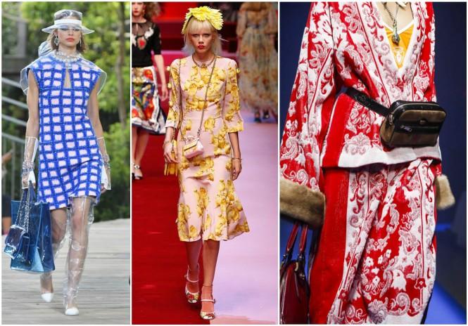 2018 Yaz Modası | Chanel, Dolce&Gabbana, Gucci