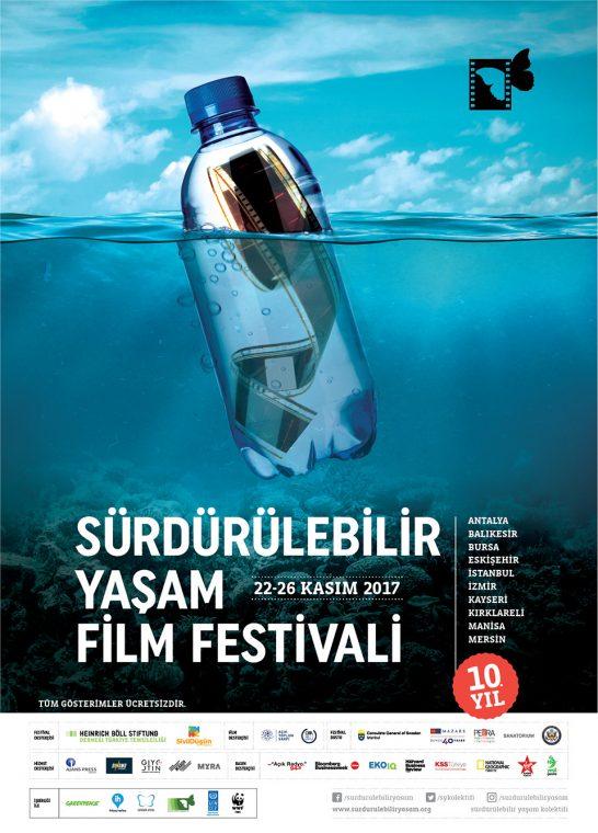 Sürdürülebilir Yaşam Film Festivali 10 Yaşında 10 İlde