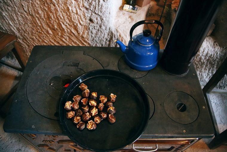 Kapadokya - Uçhisar – Çiko'nun Yeri'nde Çay Keyfi