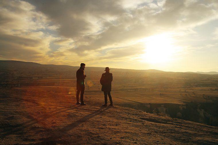 Kapadokya - Pancarlı Vadisi'nde Sakin Gün Batımı