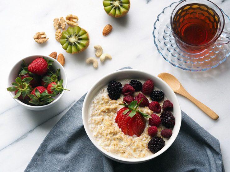 Porridge: Muzlu ve Orman Meyveli Yulaf Lapası | DenemenLazım
