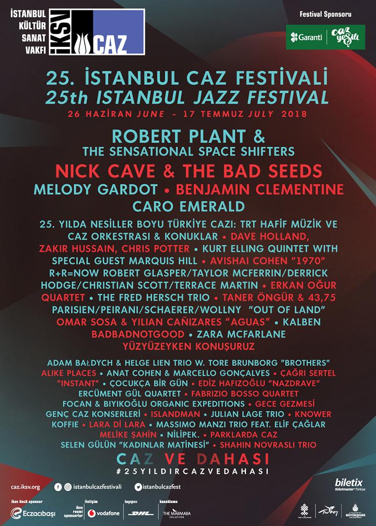 Ülkemizdeki Festivaller | İstanbul Caz Festivali