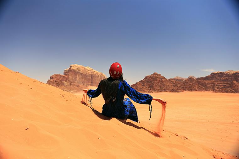 Sand Dunes - Ürdün