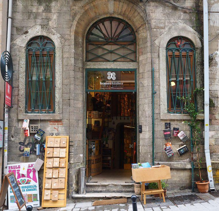 İstanbul'da Bilmeniz Gereken Kitapçılar   Homer Kitabevi