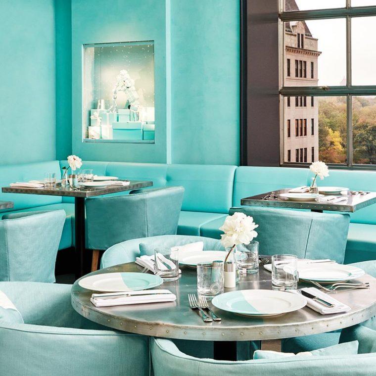 Moda Markalarının Restoranları - The Blue Box Cafe