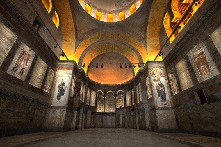 istanbul Müzeler - Kariye Müzesi
