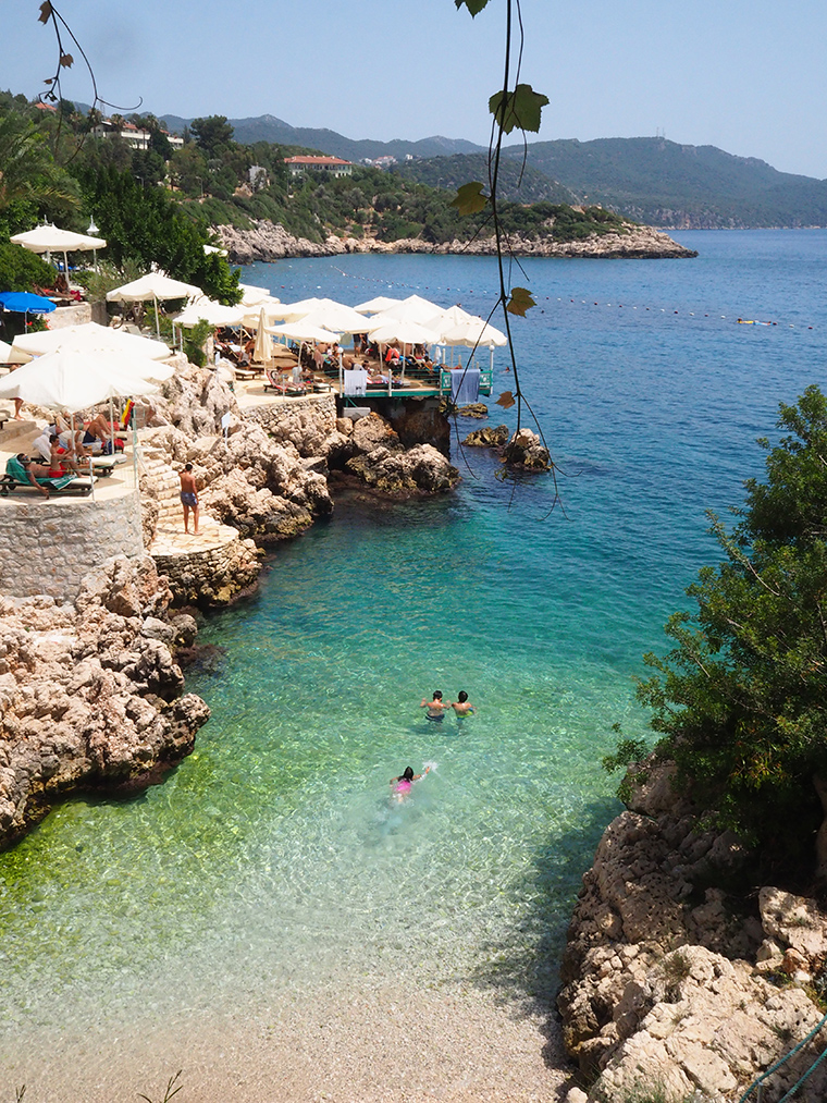 Kaş Plajları | Küçük Çakıl Derya Beach