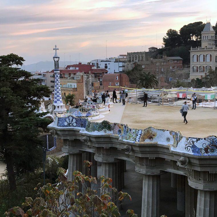 Barcelona Sanat ve Mekan - Park Güell & Copasetic