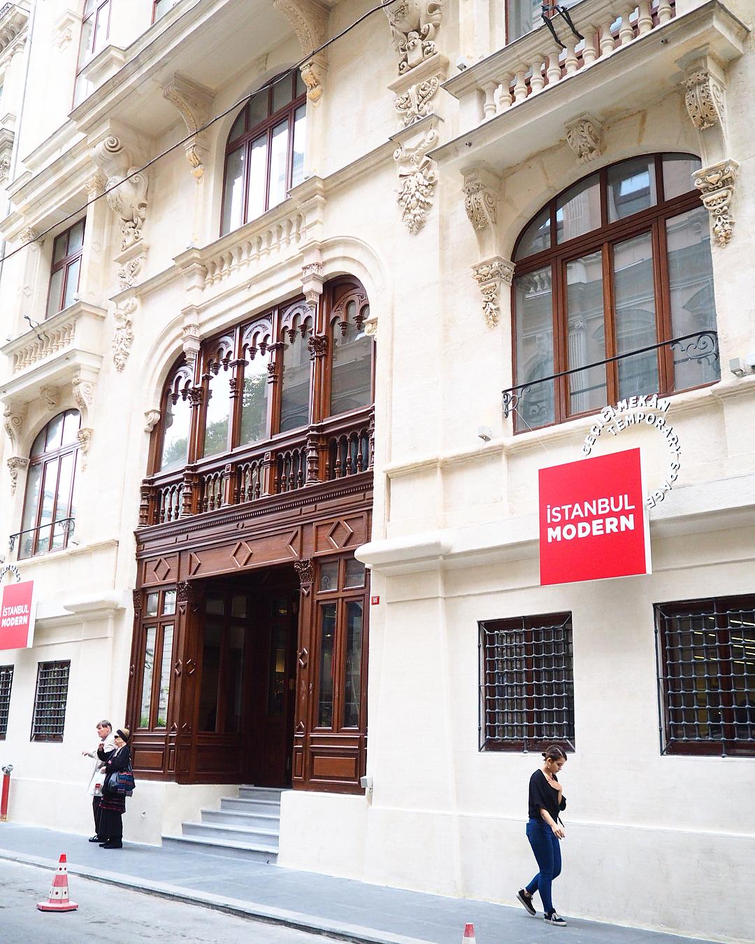 istanbul Müzeler - İstanbul Modern