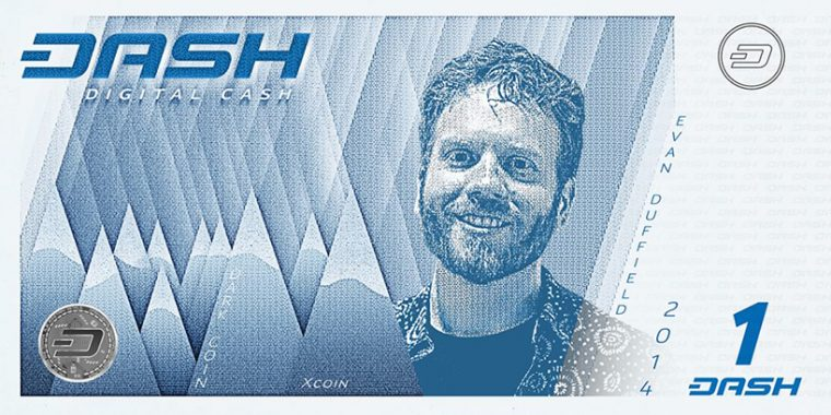 Kripto Paralar Banknot Tasarım - DASH