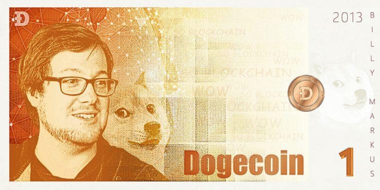 Kripto Para Banknot Tasarım - Dogecoin