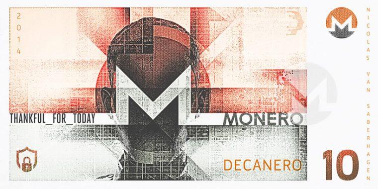 Kripto Para Banknot Tasarım - Monero