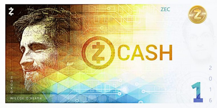 Kripto Para Banknot Tasarım - Zcash