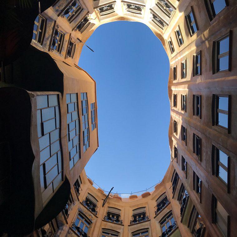 Barcelona Sanat ve Mekan - La Pedrara (Casa Mila) & Cerveceria Catalana