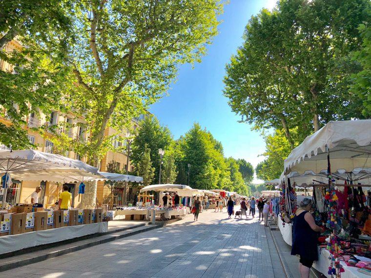 Provence Fransa - Lavanta Turu Yerel Pazar