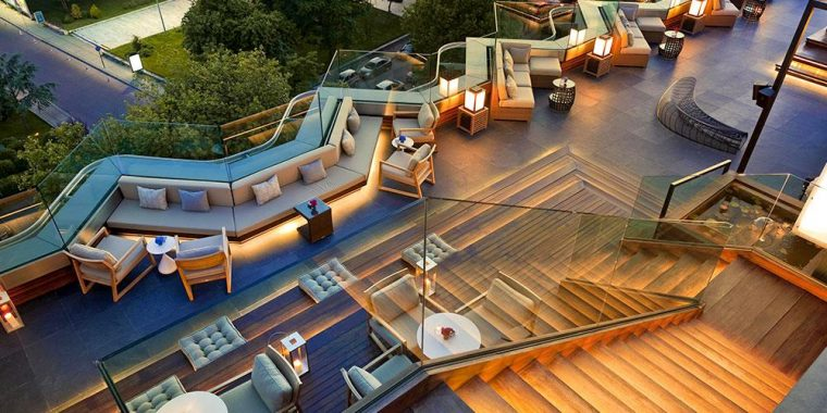 İstanbul Teraslı Mekanlar - Swissotel 16 Roof