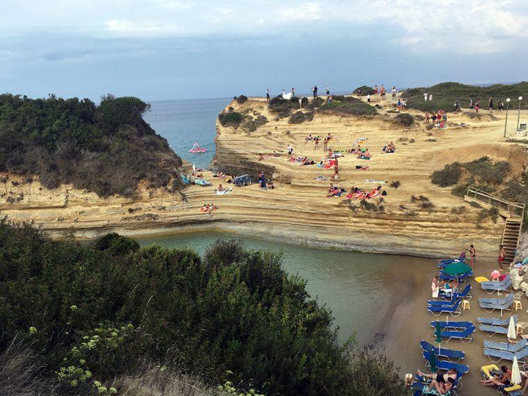 Korfu Adası - Canal D'Amour