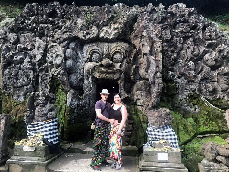 Bali Adası - Goa Gajah (Fil Mağarası)