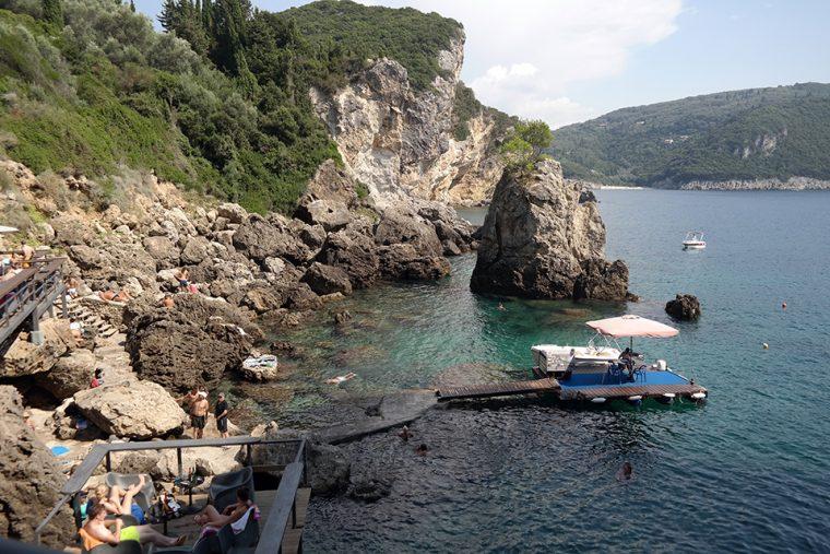Korfu Adası - La Grotta