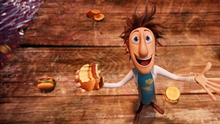 Animasyon Film - Cloudy with a Chance of Meatballs / SONY