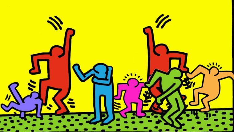 Görsel: Keith Haring - Party