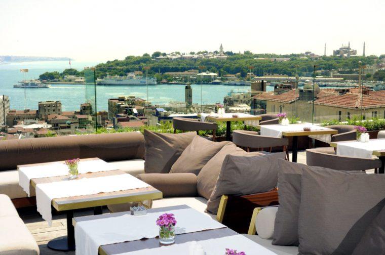 İstanbul Teraslı Mekanlar - Georges Hotel Galata