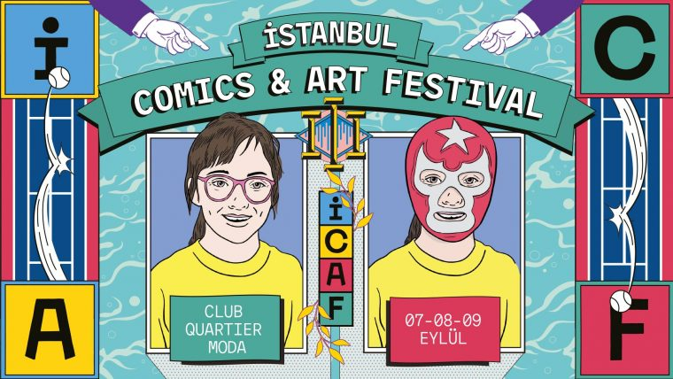 istanbul etkinlik | İstanbul Comics & Art Festival