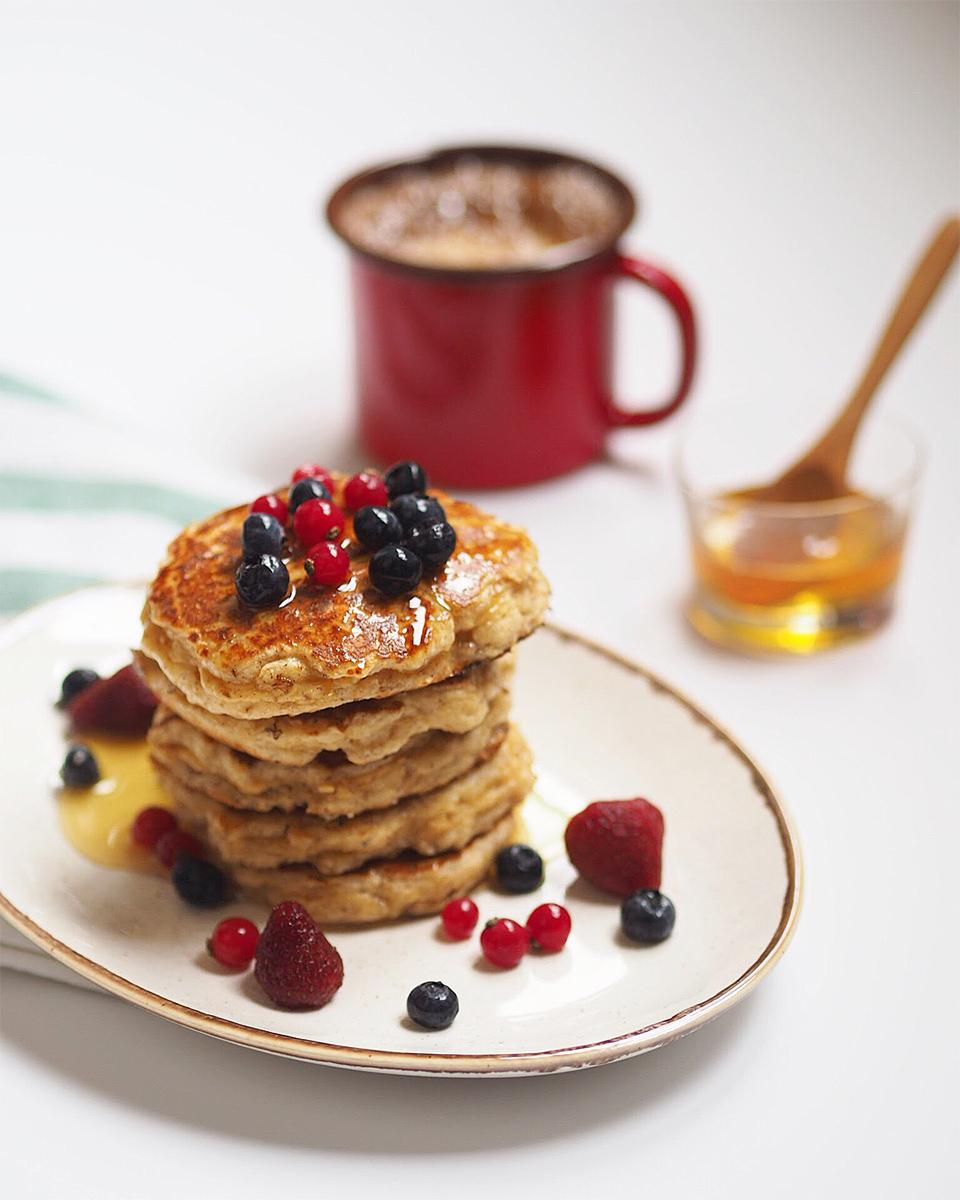 Karabuğday Unlu Pancake Tarifi
