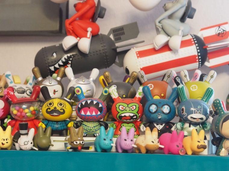 Koleksiyonerlik üzerine Mini Bir Söyleşi - Kidrobot Dunny & Cosmic Rabbits