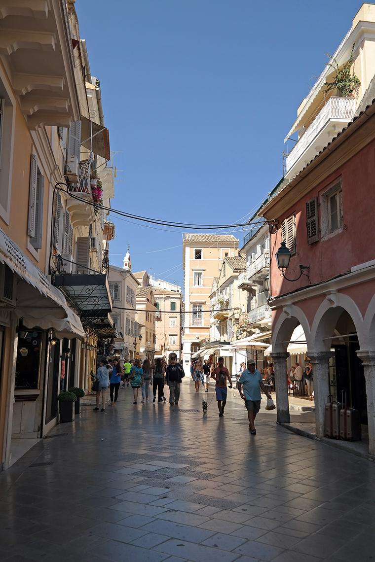 Korfu Adası - Şehir Merkezi / Gezilecek Yerler