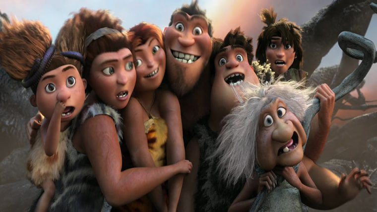 Animasyon Film - The Croods / Dreamworks