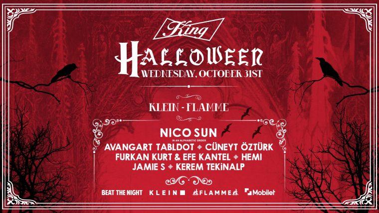 istanbul etkinlik | King Presents: Halloween Night