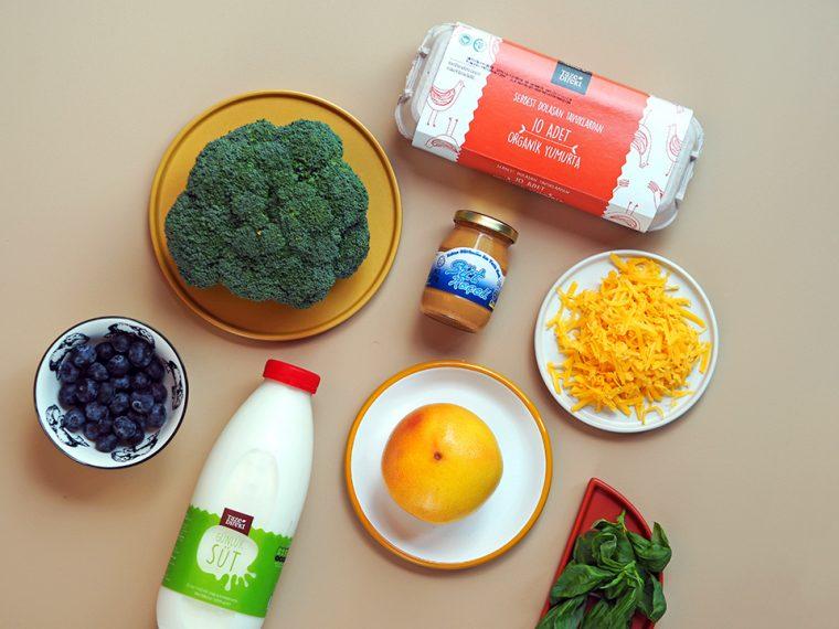 Kahvaltılık Tarifler | Malzemeler