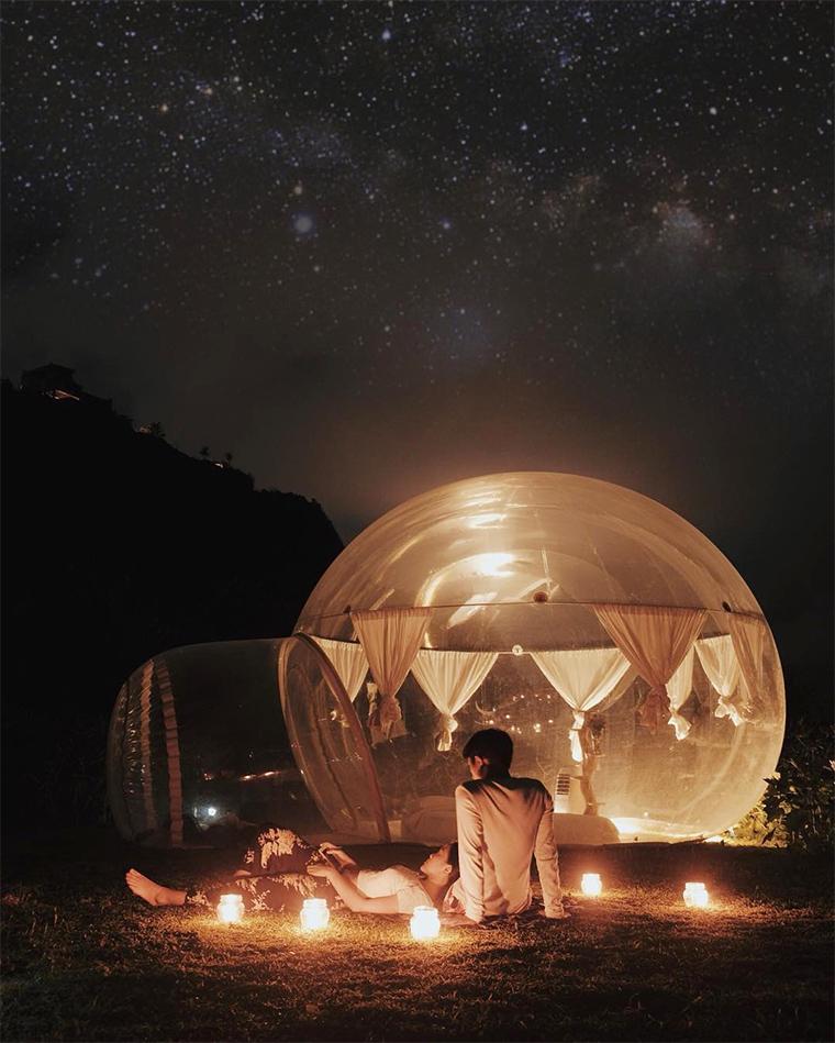Bubble Oteller: Yeni Trend'in Dünyadan Çarpıcı Örnekleri