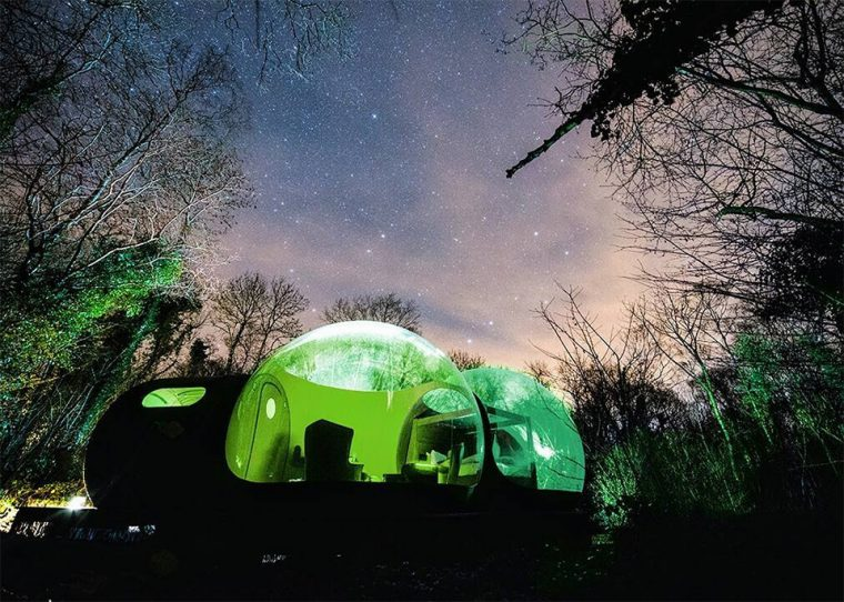 Bubble Oteller | Finn Lough Resort