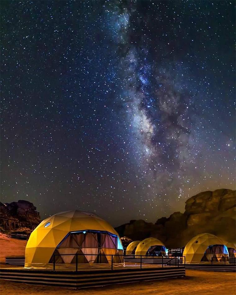 Bubble Oteller | SunCity Camp
