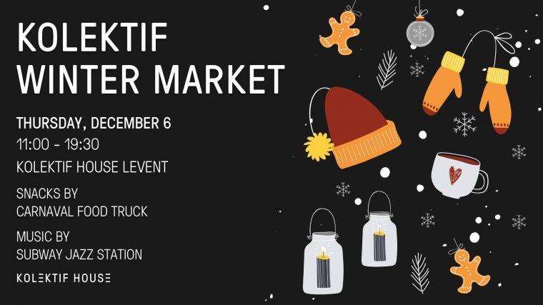 istanbul etkinlikler | Kolektif Winter Market