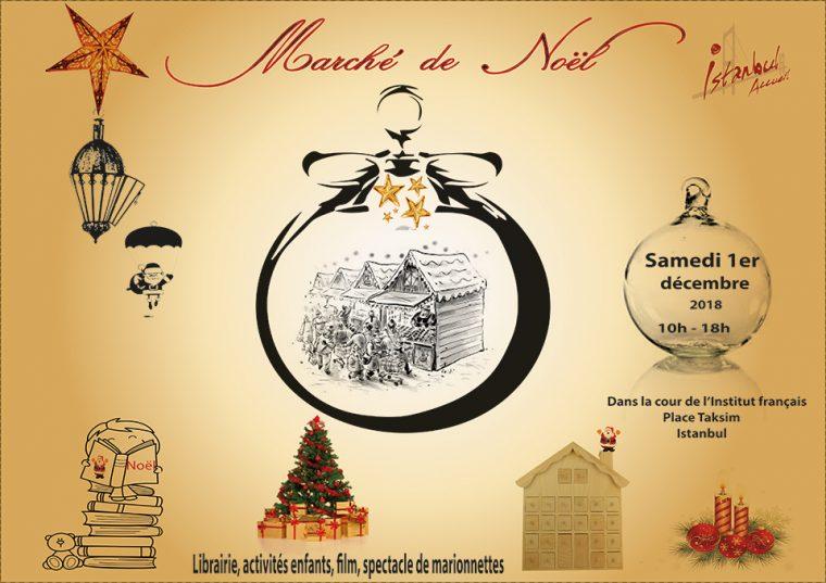 istanbul etkinlikler | Noel Pazarı - Marché de Noël