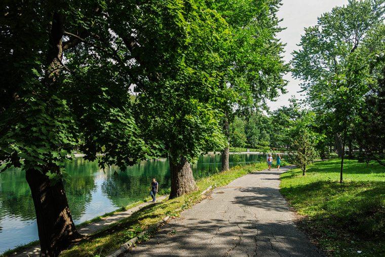 Kanada - Montreal | La Fontaine Parkı
