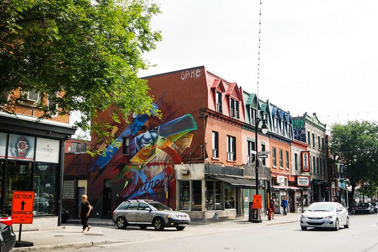 Kanada - Montreal | Plateau Mont Royal Bölgesi