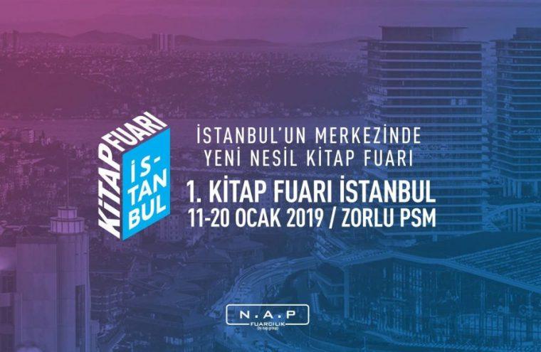 istanbul etkinlik Ocak | 1. Kitap Fuarı İstanbul