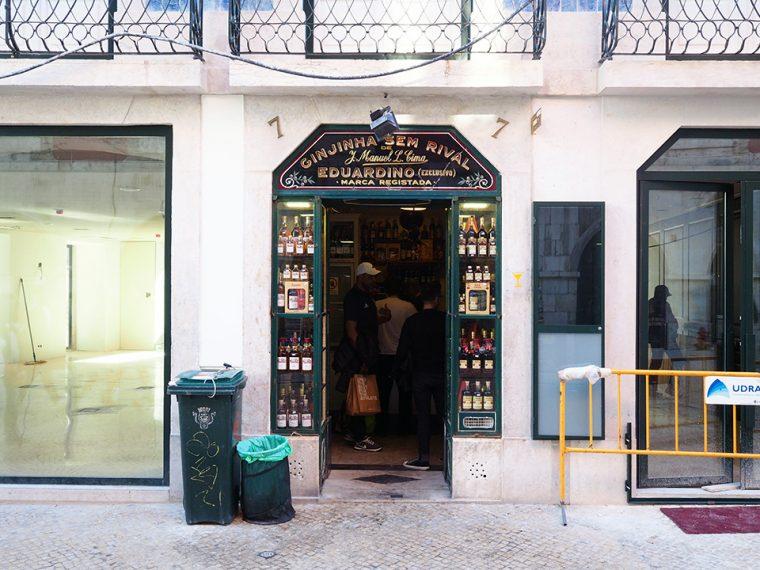 Lizbon Gezilecek Yerler   Ginjinha