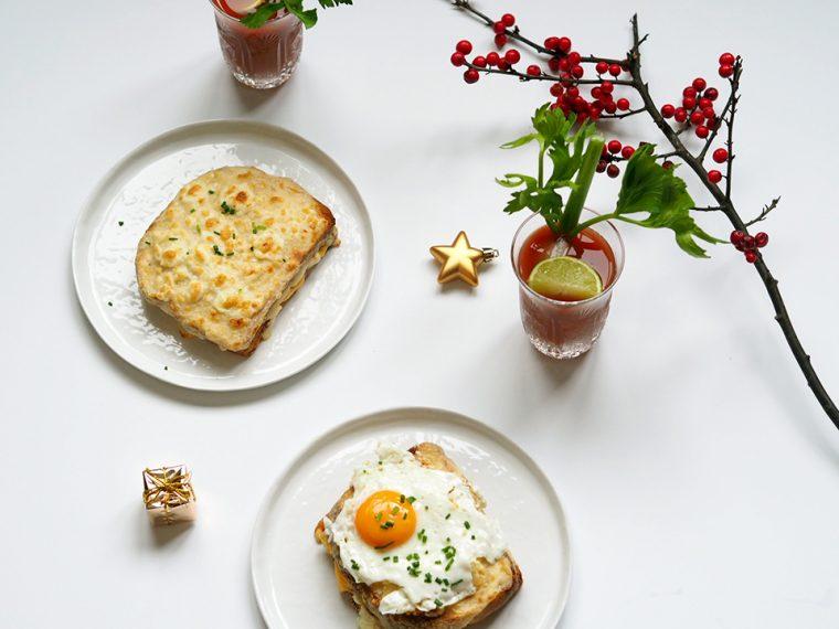Yeni Yıl Kahvaltısı: Croque Madame / Monsiuer ve Bloody Mary